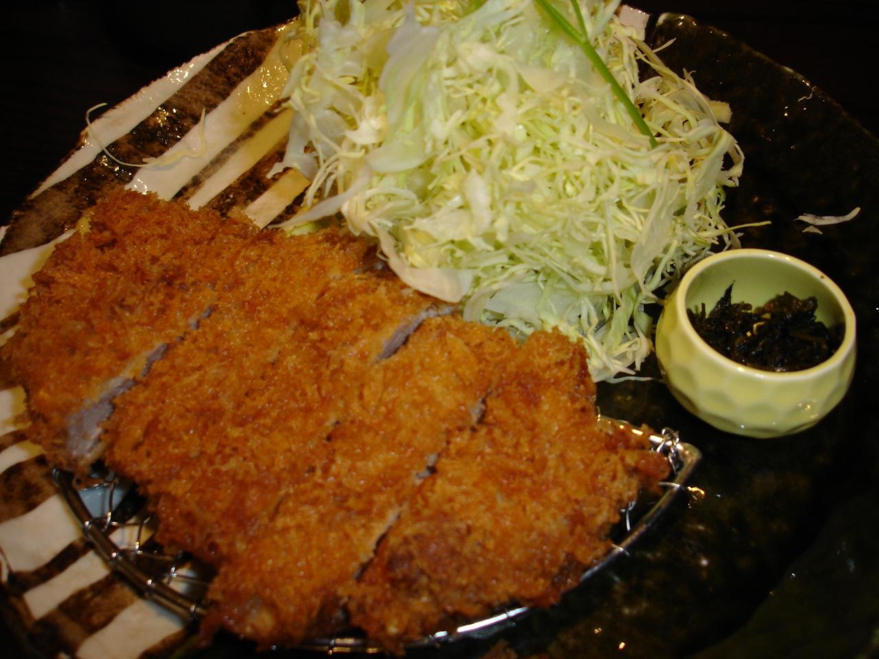 un petit tour dans la cuisine Japonaise Tonkatsu